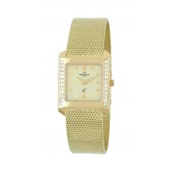 Damenuhr Gelbgold GG585/-, ca. 53,75gr.14kt., Princess-Diamanten 0,60ct.TW-vsi