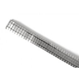 Zugband Edelstahl mit Dekor 14 mm