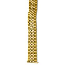 Goldansatzband Gelbgold 585/-, ca. 57,0 gr.14kt., Länge 170 mm